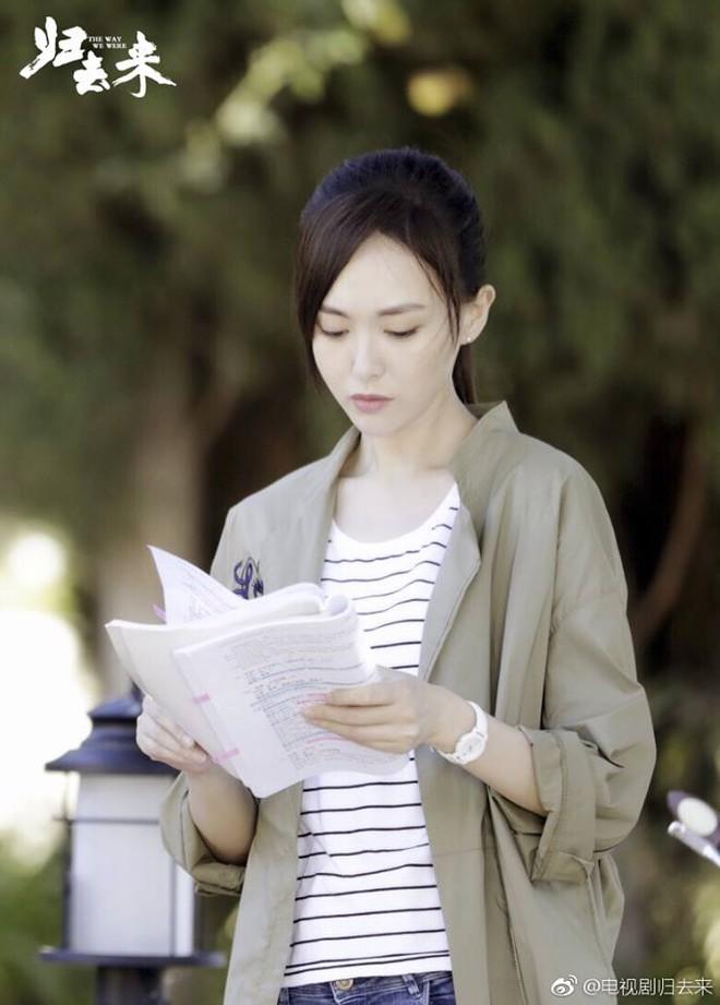 Đóng phim cùng người yêu, Đường Yên tươi tắn, xinh đẹp hút mắt nhìn - Ảnh 11.
