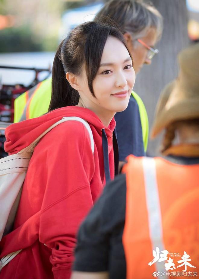 Đóng phim cùng người yêu, Đường Yên tươi tắn, xinh đẹp hút mắt nhìn - Ảnh 9.