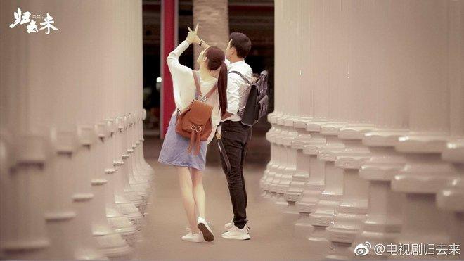 Đóng phim cùng người yêu, Đường Yên tươi tắn, xinh đẹp hút mắt nhìn - Ảnh 5.