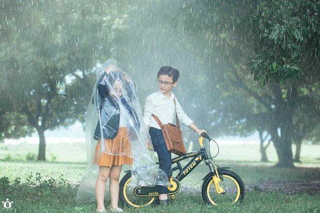 Truy lùng danh tính cặp đôi Em gái mưa phiên bản nhí trong bộ ảnh đang gây bão táp mạng xã hội - Ảnh 8.
