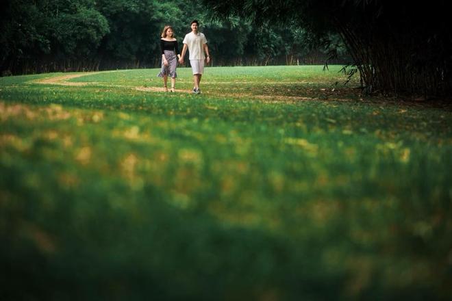 Mối lương duyên từ nút like dạo và chuyện yêu chơi, cưới thật của cặp đôi thích đùa - Ảnh 9.