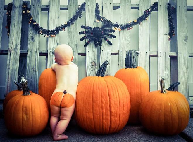 Trào lưu chụp ảnh cho bé sốt xình xịch trong mùa Halloween năm nay, bố mẹ đã biết chưa? - Ảnh 2.