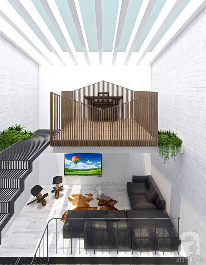 Với 1.5 tỷ đồng, KTS đã hoàn thiện căn nhà ống 3.5 tầng với tổng diện tích gần 300m² - Ảnh 11.