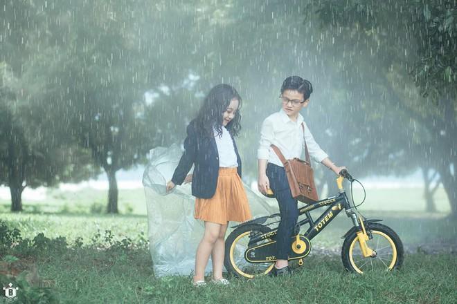 Truy lùng danh tính cặp đôi Em gái mưa phiên bản nhí trong bộ ảnh đang gây bão táp mạng xã hội - Ảnh 7.
