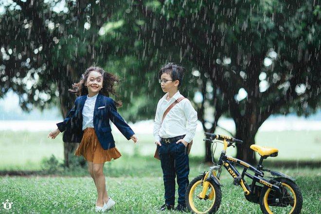 Truy lùng danh tính cặp đôi Em gái mưa phiên bản nhí trong bộ ảnh đang gây bão táp mạng xã hội - Ảnh 5.