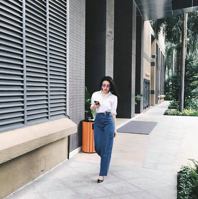 Street style tuần này: Angela Phương Trinh diện váy ôm già chát, Kỳ Duyên nổi bật vì dát hàng hiệu từ đầu tới chân - Ảnh 11.