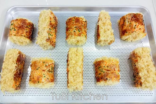 Học ngay cách làm bánh mì chà bông ngàn like của mẹ 8x siêu đảm - Ảnh 7.