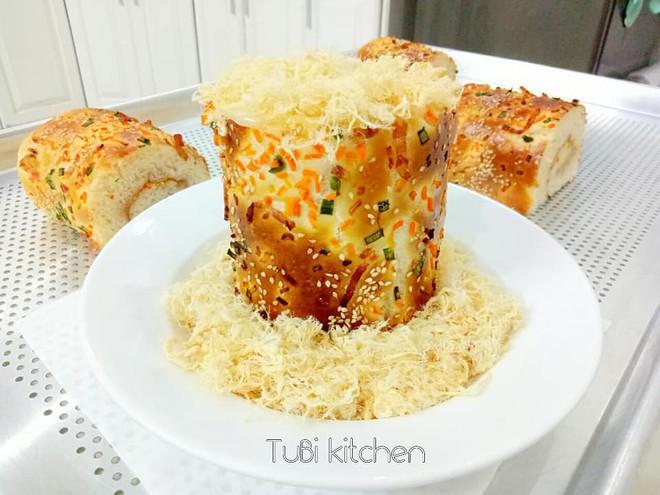 Học ngay cách làm bánh mì chà bông ngàn like của mẹ 8x siêu đảm - Ảnh 6.