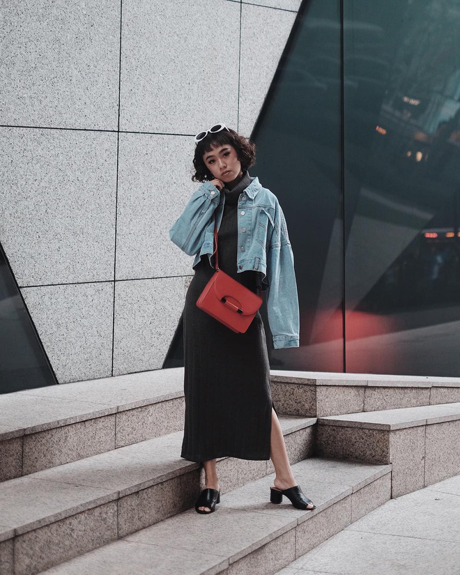 5 mẫu váy đang được các tín đồ thời trang châu Á diện nhiều nhất khi tiết trời se lạnh  - Ảnh 26.