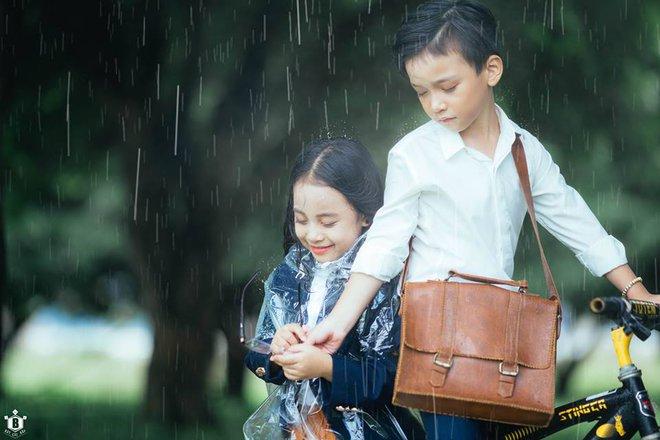 Truy lùng danh tính cặp đôi Em gái mưa phiên bản nhí trong bộ ảnh đang gây bão táp mạng xã hội - Ảnh 4.