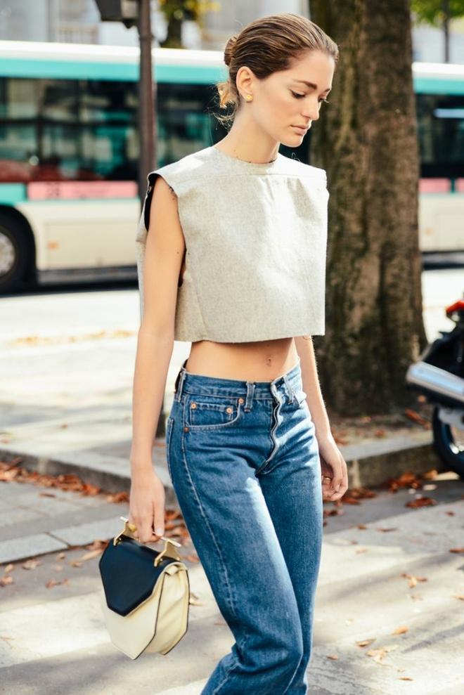 5 kiểu áo hè cứ diện cùng jeans/legging là chỉ có đẹp trở lên - Ảnh 12.