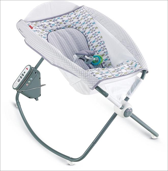 Đây chính xác là chiếc ghế rung hoàn hảo, đáng túi tiền nhất mẹ cần mua cho bé - Ảnh 7.