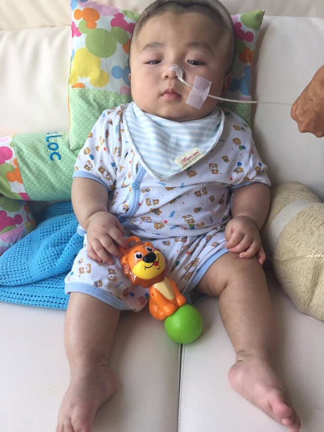 Tin vui: Bé Phạm Đức Lộc được bác sĩ cho về Việt Nam đón sinh nhật một tuổi - Ảnh 4.