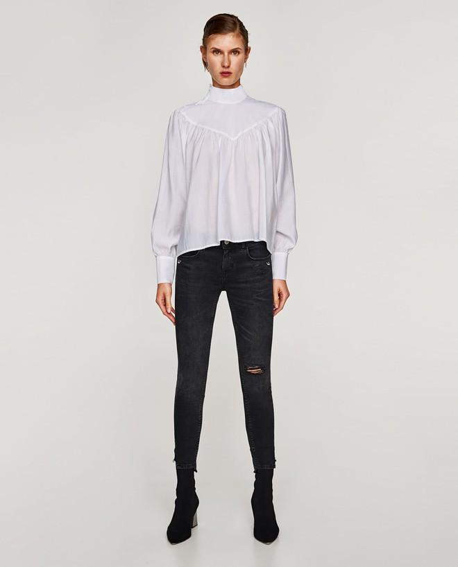 Gợi ý 15 mẫu quần dài từ Zara, Mango, H&M cứ mặc cùng boots là đẹp - Ảnh 6.