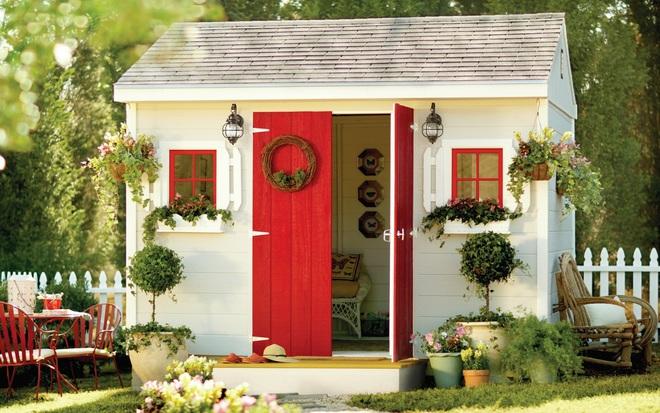 Những ngôi nhà nhỏ trong vườn khiến bạn như được lạc vào thế giới cổ tích - Ảnh 8.
