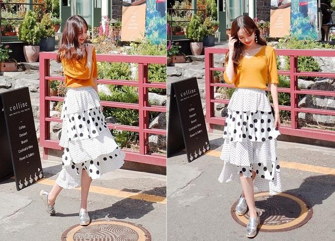 Hè này chân váy toàn những mẫu đã đẹp còn điệu khiến các nàng chẳng thể làm ngơ - Ảnh 10.