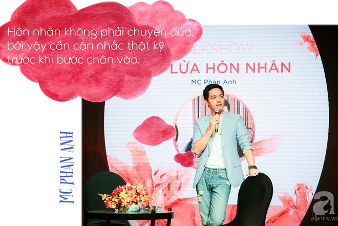 """MC Phan Anh bày cách giữ lửa hôn nhân: """"Dù đúng hay sai, đàn ông nhất định phải là người xin lỗi trước"""" - Ảnh 5."""