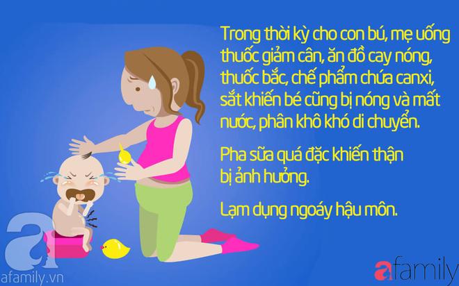 43 cách chữa táo bón cho trẻ sơ sinh, trẻ nhỏ khỏi dứt điểm mà không cần uống thuốc - Ảnh 1.