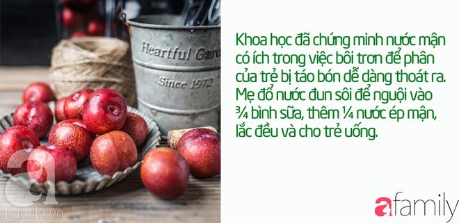 43 cách chữa táo bón cho trẻ sơ sinh, trẻ nhỏ khỏi dứt điểm mà không cần uống thuốc - Ảnh 10.