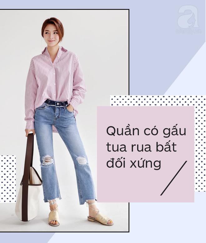 Muốn mặc quần jeans nhưng lại ngại chân ngắn, bạn cứ mua 7 kiểu quần này - Ảnh 2.