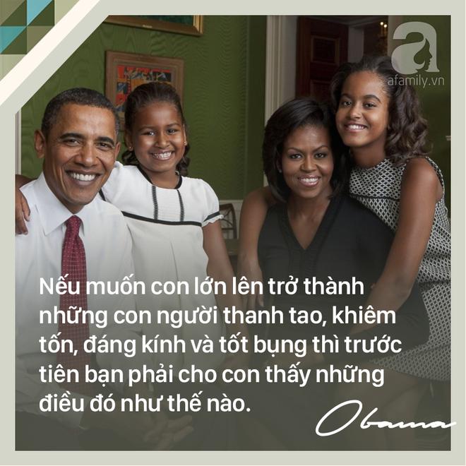 7 quy tắc vàng nuôi dạy con khiến cựu Tổng thống Mỹ Barack Obama trở thành ông bố trên cả tuyệt vời - Ảnh 4.