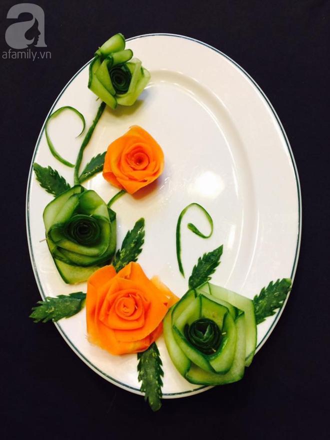 5 cách trang trí đĩa ăn siêu đẹp theo chủ đề hoa lá - Ảnh 2.