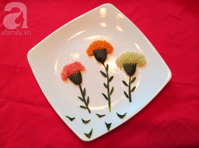 5 cách trang trí đĩa ăn siêu đẹp theo chủ đề hoa lá - Ảnh 5.