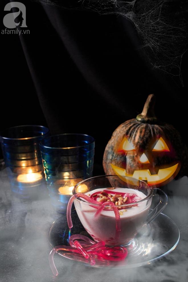 Halloween sắp tới, tham khảo ngay cách nấu món chè giun đỏ siêu rùng rợn thôi! - Ảnh 8.