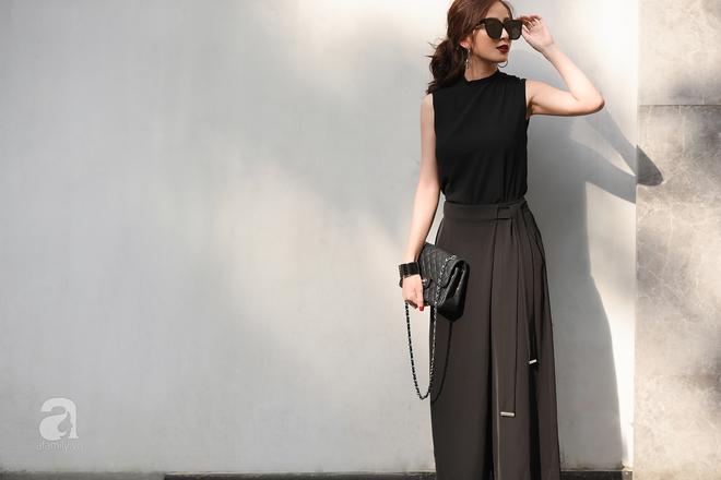 Street style cuối tuần: Quý cô hai miền - người lấp ló chân thon dài, người khoe vai trần cá tính - Ảnh 2.