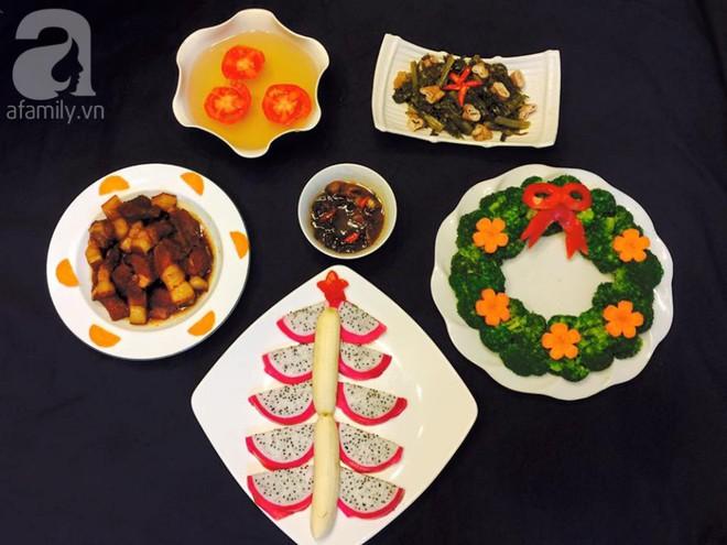 Mẹ Tít chia sẻ thực đơn thuần Việt ngập sắc màu Noel siêu dễ thương - Ảnh 6.
