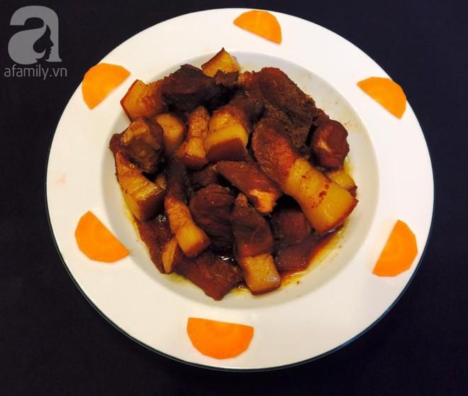 Mẹ Tít chia sẻ thực đơn thuần Việt ngập sắc màu Noel siêu dễ thương - Ảnh 3.