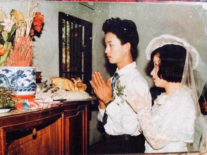 Đám cưới chất chơi thời bố mẹ anh thập niên 90: Pháo nổ râm ran, cả làng chạy theo cô dâu chú rể - Ảnh 23.