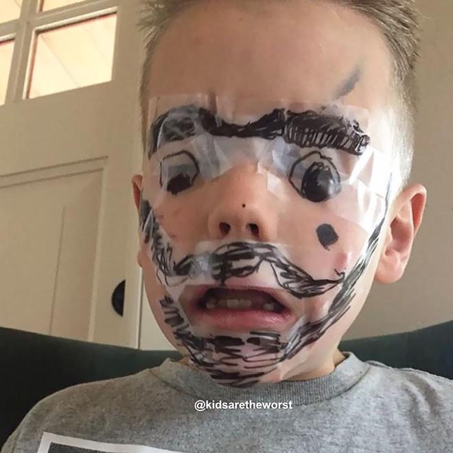 Đừng bao giờ để lũ trẻ ở nhà một mình nếu không muốn chứng kiến những cảnh dở khóc dở cười này - Ảnh 6.