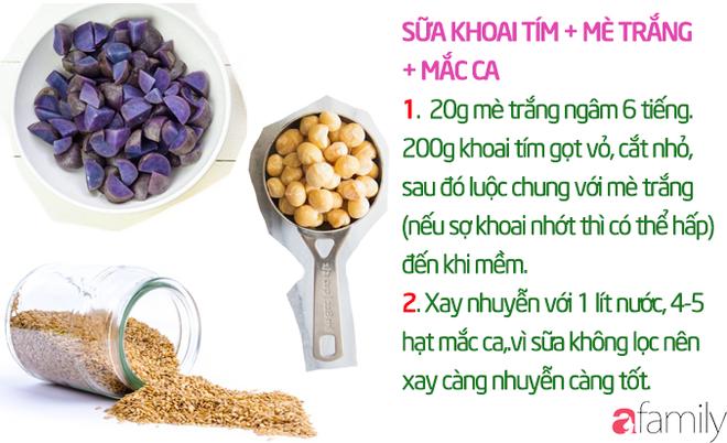 19 công thức làm sữa hạt thơm ngon giúp con tăng cân mà không bị rối loạn tiêu hóa - Ảnh 21.