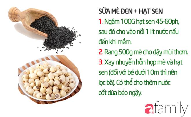 19 công thức làm sữa hạt thơm ngon giúp con tăng cân mà không bị rối loạn tiêu hóa - Ảnh 10.