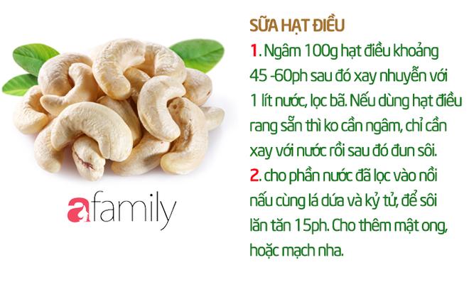 19 công thức làm sữa hạt thơm ngon giúp con tăng cân mà không bị rối loạn tiêu hóa - Ảnh 11.
