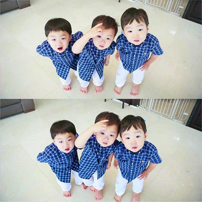 Ông bố quốc dân xứ Hàn và cách dạy 3 con sinh ba đến chuyên gia tâm lý cũng phải khen ngợi - Ảnh 5.