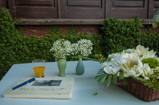 Đám cưới xanh bạc hà của cô dâu Việt quen chàng trai Thụy Điển vì một ly bia, yêu vì một chai rượu - Ảnh 6.