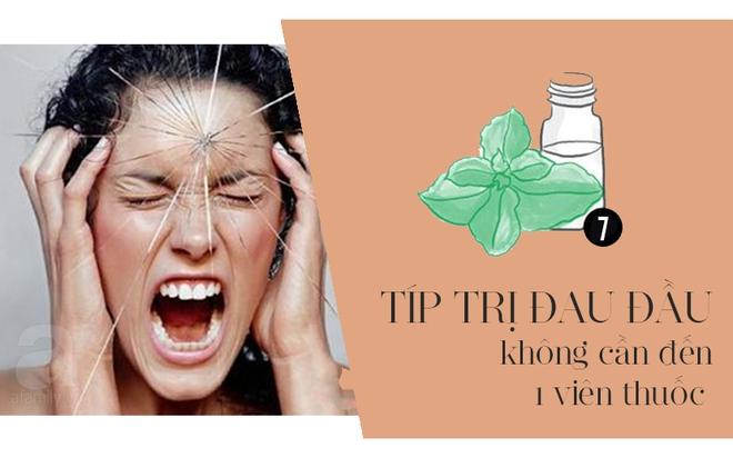 Đừng uống thuốc giảm đau mà hãy làm ngay 7 việc này để đá bay cơn đau đầu dai dẳng - Ảnh 1.