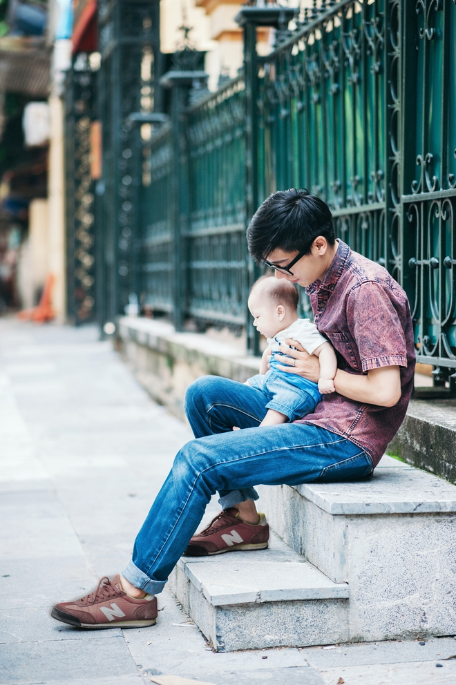 Ông bố chưa từng tốn 1 xu mua đồ chơi cho con và những quan điểm nuôi dạy con thú vị - Ảnh 6.