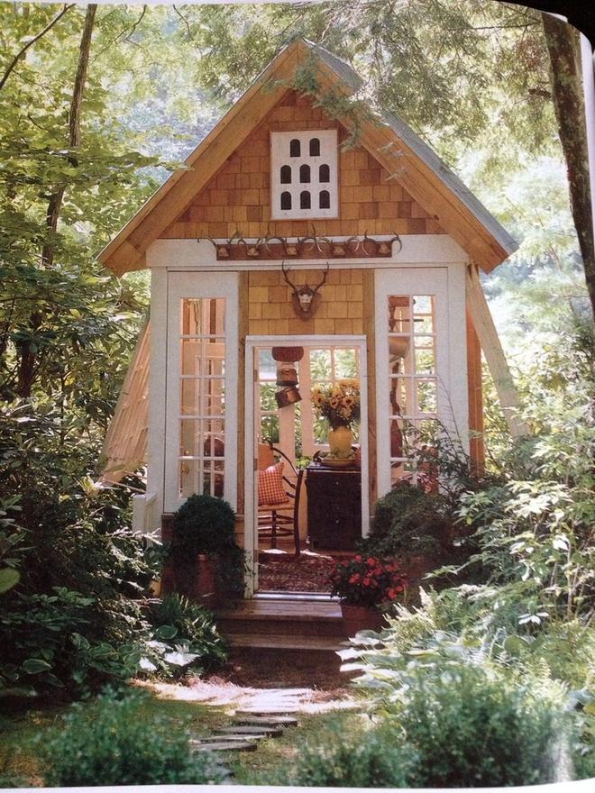 Những ngôi nhà nhỏ trong vườn khiến bạn như được lạc vào thế giới cổ tích - Ảnh 7.