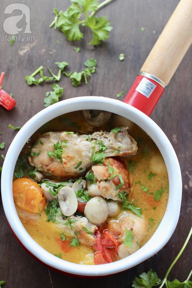 Món ngon cuối tuần: Gà nấu nấm - Ảnh 7.