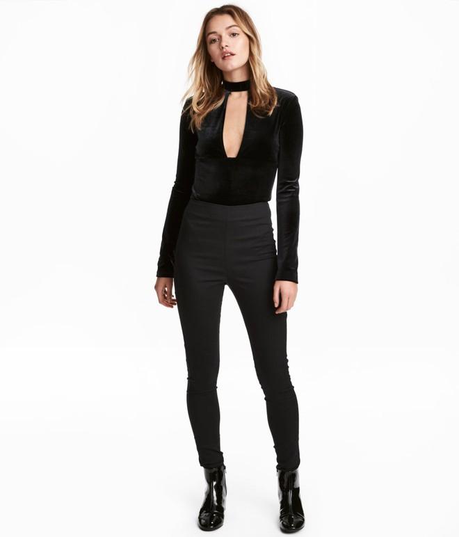 Gợi ý 15 mẫu quần dài từ Zara, Mango, H&M cứ mặc cùng boots là đẹp - Ảnh 2.