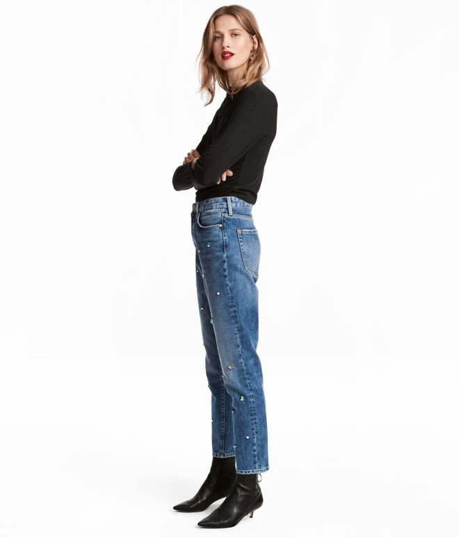 Gợi ý 15 mẫu quần dài từ Zara, Mango, H&M cứ mặc cùng boots là đẹp - Ảnh 3.