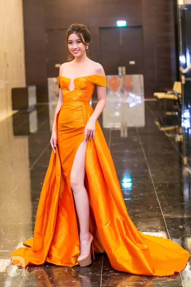 Hoa hậu Đỗ Mỹ Linh rạng ngời đọ sắc với Á hậu Huyền My - Ảnh 7.