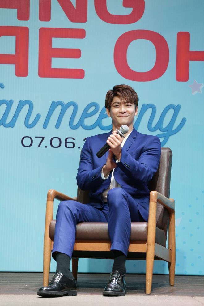 Trở lại Việt Nam sau Tuổi thanh xuân, Kang Tae Oh xúc động đến bật khóc - Ảnh 1.