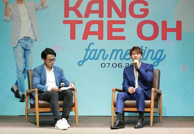 Trở lại Việt Nam sau Tuổi thanh xuân, Kang Tae Oh xúc động đến bật khóc - Ảnh 4.