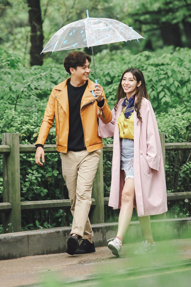Ngô Kiến Huy - Khổng Tú Quỳnh tay trong tay hạnh phúc ở Hàn Quốc - Ảnh 11.