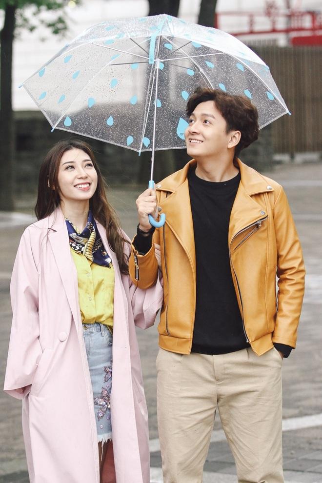 Ngô Kiến Huy - Khổng Tú Quỳnh tay trong tay hạnh phúc ở Hàn Quốc - Ảnh 10.