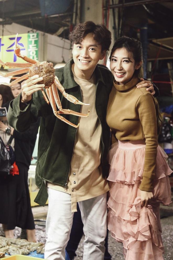 Ngô Kiến Huy - Khổng Tú Quỳnh tay trong tay hạnh phúc ở Hàn Quốc - Ảnh 9.